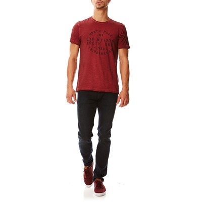 REDSKINS Northphole - T-shirt manches courtes - rouge