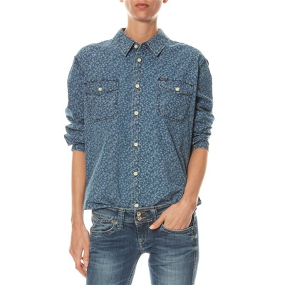 Pepe Jeans London DEACON - Camisa casual - denim azul