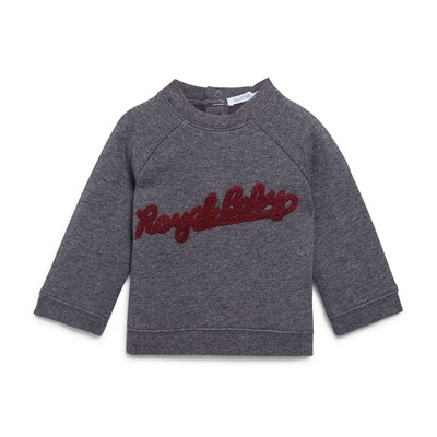 BOUT'CHOU Sweat en coton - gris