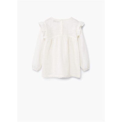 MANGO KIDS Blouse - ecru