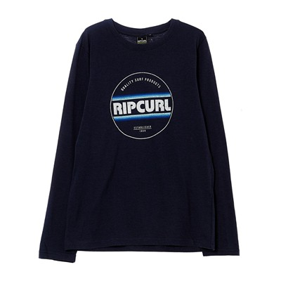 RIP CURL Ml biggy boy ls - T-shirt - bleu
