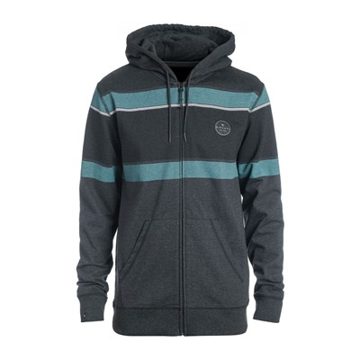 RIP CURL Lines ZT Hooded - Sweat à capuche - gris