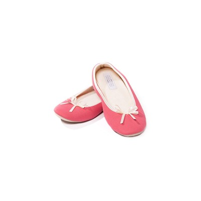 Chaussons ballerines - rose