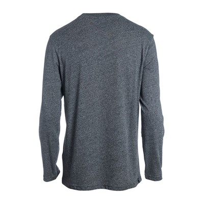 RIP CURL Mc scratched window ls - T-shirt - gris