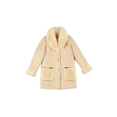 DERHY KIDS Satine - Manteau - ecru