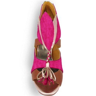 PRING PARIS Kiki - Escarpins en cuir - rose