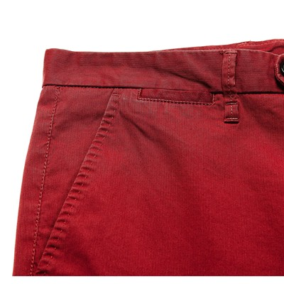 BENETTON Pantalon chino - bordeaux