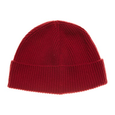 Benetton Bonnet 80% laine - rouge