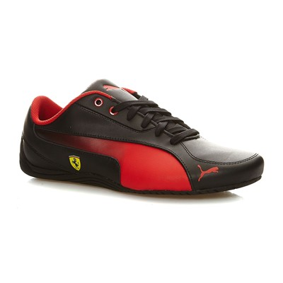PUMA Drift Cat 5 - Baskets en cuir mélangé - noir
