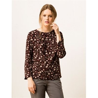 SOMEWHERE Gestel - Blouse - figue