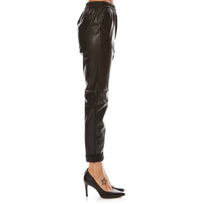 BEST MOUNTAIN Pantalon coupe carotte - noir