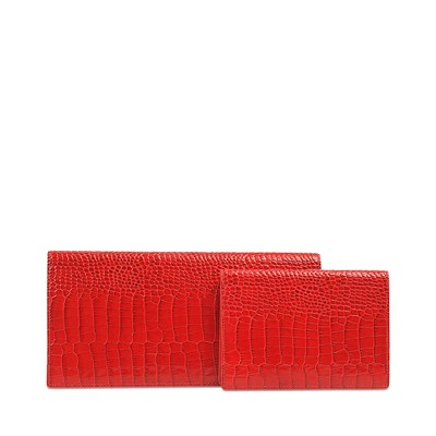 Mara Slim Travel - Portefeuille - rouge