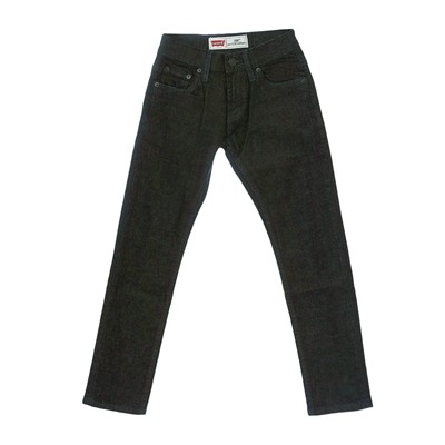 LEVI'S KIDS 508 - Jeans tapered - denim noir