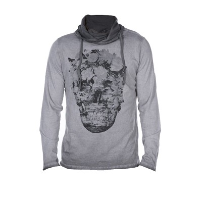 DEELUXE Todie - T-shirt manches longues - gris