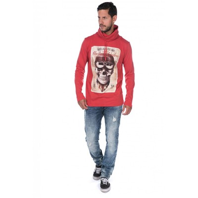 DEELUXE Clemy - T-shirt - rouge