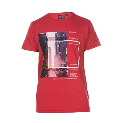 DEELUXE Upper - T-shirt - rouge