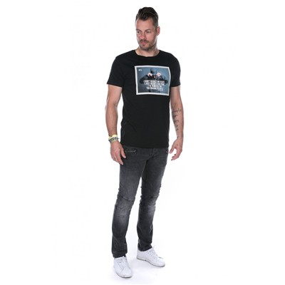 DEELUXE Past - T-shirt - noir