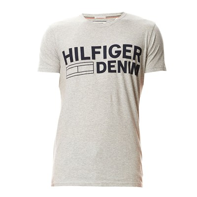 HILFIGER DENIM T-shirt - gris clair