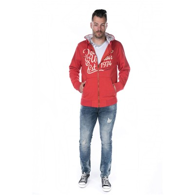 DEELUXE Lastone - Sweat-shirt - rouge