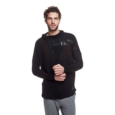 GUESS Pure Seasonal - Sweat à capuche - noir