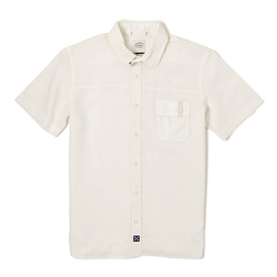 OXBOW Coping - Chemise col club - blanc