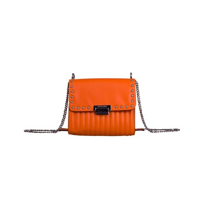 Kesslord Carelle star - besace en cuir - orange