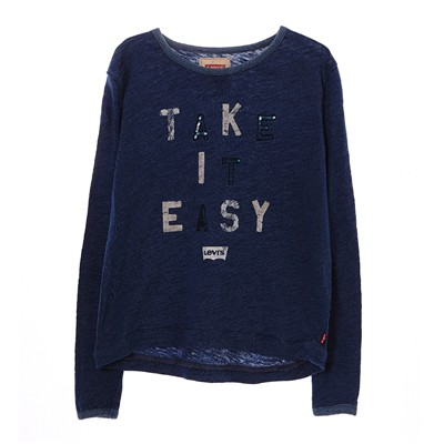 LEVI'S KIDS Easy - T-shirt - bleu brut