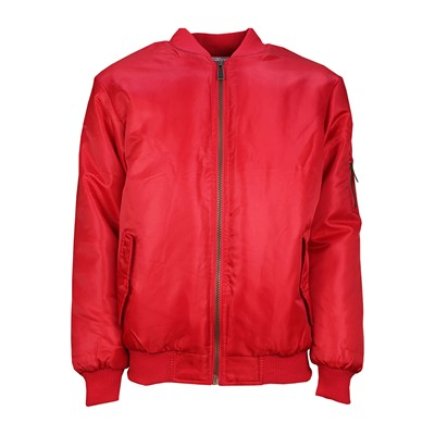 SOULSTAR MJ MA1 RED2 - Blouson - rouge