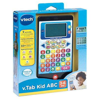VTECH V tab kid ABC - Jeu éducatif - multicolore