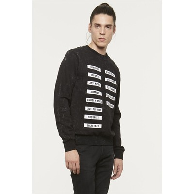 ELEVEN PARIS Elton - Sweat-shirt - noir