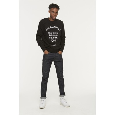 ELEVEN PARIS Agass - Sweat-shirt - noir