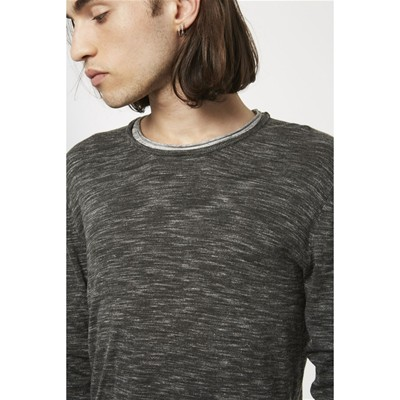 ELEVEN PARIS Buro - T-shirt - gris chine
