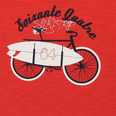 64 Surf Trip - T-shirt - rouge