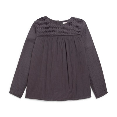MONOPRIX KIDS Blouse/tunique/chemisier - plomb