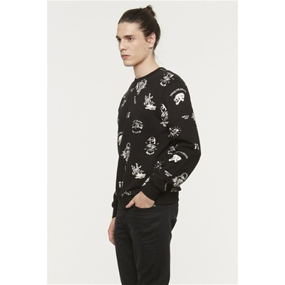 ELEVEN PARIS Efolf - Sweat-shirt - noir