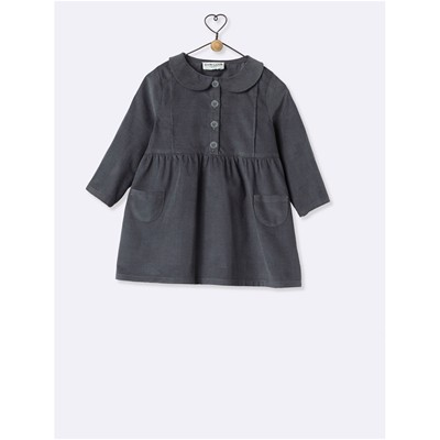 CYRILLUS Robe tablier - anthracite