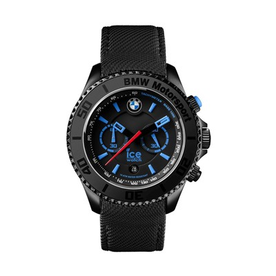 BMW Motorsport - Montre en cuir - multicolore