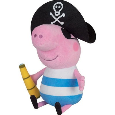 JEMINI Peppa George pirate - Peluche - 1+