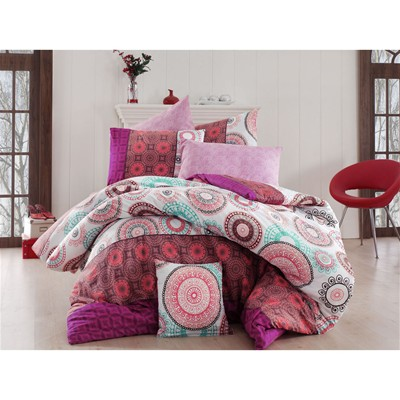 Cotton Box Conjunto de cama - rosa