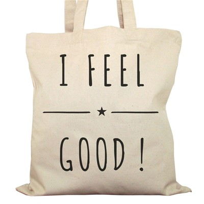 ARTECITA I feel good - Cabas - ecru
