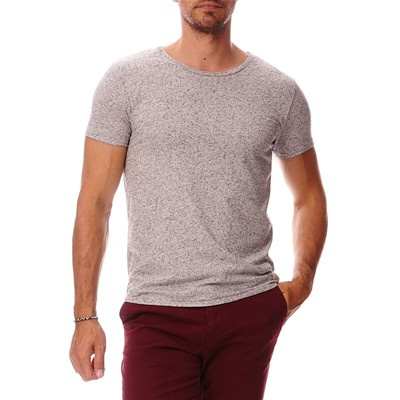 SCOTCH & SODA T-shirt en coton mélangé - gris