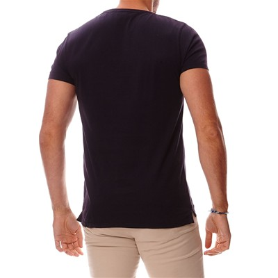 SCOTCH & SODA T-shirt en coton - noir