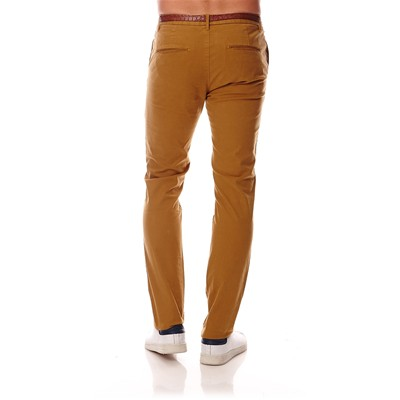 SCOTCH & SODA Pantalon chino - moutarde