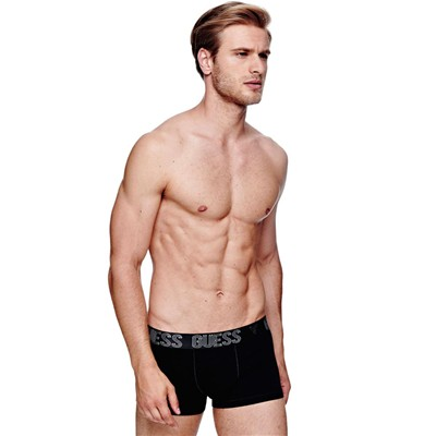 GUESS Diamond - Boxer - noir