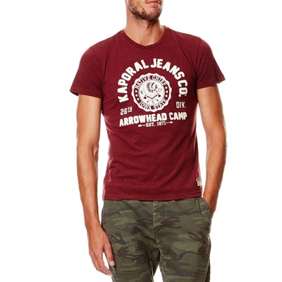 KAPORAL T-shirt - bordeaux