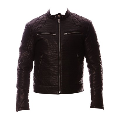 The Biker - Veste simili cuir - noir