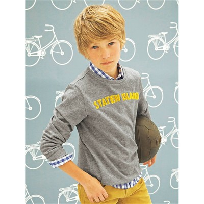 CYRILLUS Sweat-shirt - gris chine