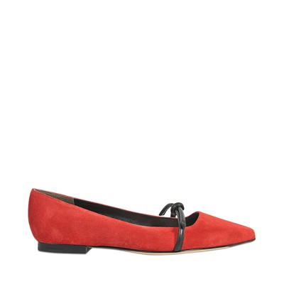 Martini - Ballerines en cuir - rouge