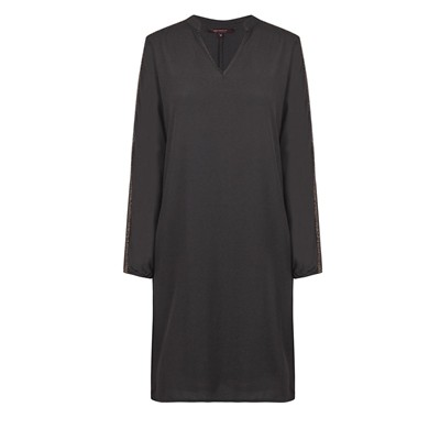 Robe détail lurex - anthracite