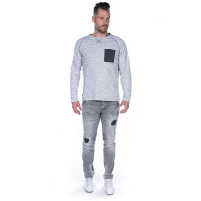 DEELUXE Etane - Sweat-shirt - gris chine